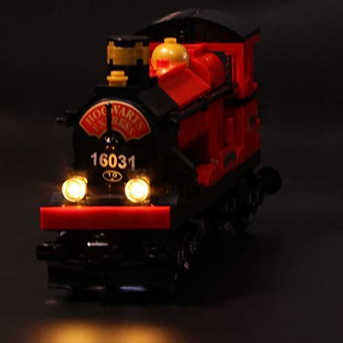 Polai Luci LED per Lego 4841 - Harry Potter - Espresso per Hogwarts (Set Lego Non è Incluso)