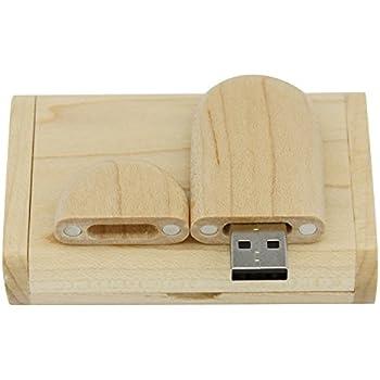 Yaxiny. Unidad Flash USB 2.0 de madera de arce. Memoria USB con ...