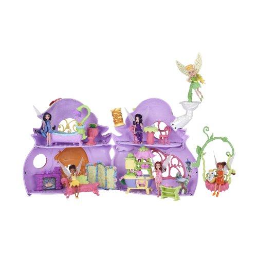 Disney Fairies Ultimate Fairy House - XL Spielset - Feen Haus - Tinkerbell Puppe & viel Zubehör - aus USA