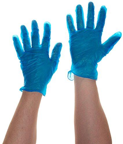 Prossor 0175rp – Taille L Blu powderfree vinyle (Lot de 100)