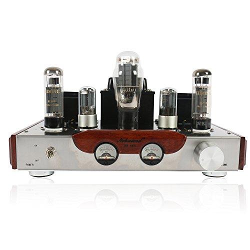 Nobsound® EL34 HiFi Stereo 2.0 Channel Röhrenverstärker Class A Single-ended Tube Amplifier Power amp 8W+8W