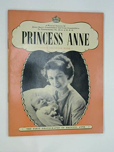 Princess Anne First Souvenir Book