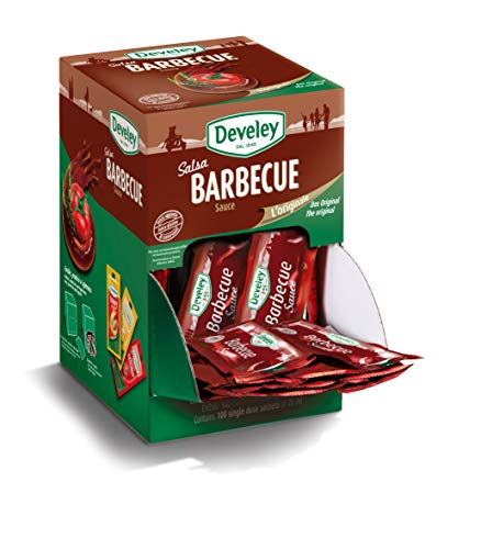 Aperisnack - AP05.011.01 Salsa barbecue Develey monodose - 100 bustine da 20 ml