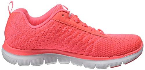 SkechersFlex Appeal 2 Break Free - Sneaker Donna Rosa (Rose (Crl Corail))