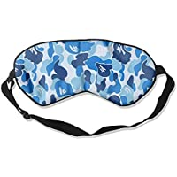 Blue Camo Camouflage Art Sleep Eyes Masks - Comfortable Sleeping Mask Eye Cover For Travelling Night Noon Nap... preisvergleich bei billige-tabletten.eu