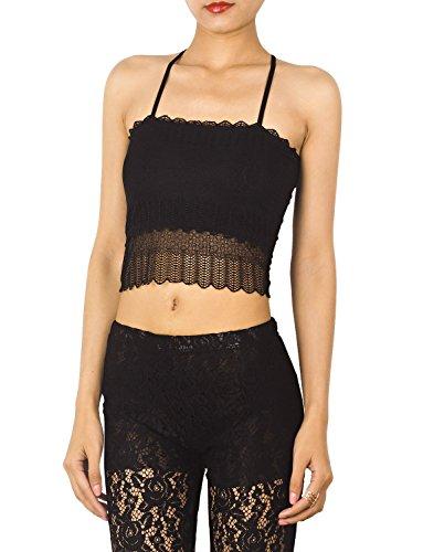 Renaissance Outfit Ideen (iB-iP Damen Baumwolle Gemischt Racerback Bauchfreies Top Unterhemd Tank Dessous, größe: S,)