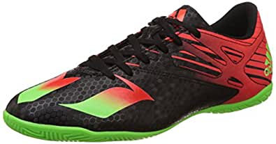 adidas Men's Messi 15.4 In Black, Green and Red Football Boots - 6 UK