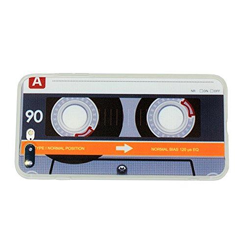 I6Hard Case, Yellow Cassette 90 (Mit Case Iphone 6 Plus Prints)