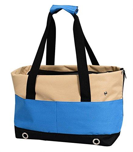 insapet Tragetasche PASSENGER Transporttasche für Katze oder Hund Katzentragetasche blau