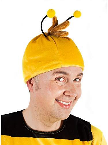 Erwachsene Figur Kostüm Comic Für - Maskworld Willi Kopfbedeckung für Erwachsene - Biene Maja Kostümzubehör
