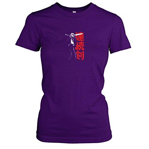 TEXLAB - Fantasy Leonhart - Damen T-Shirt, Größe M, - Squall Leonhart Kostüm