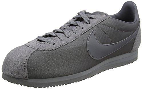 Nike Herren Classic Cortez Nylon Gymnastikschuhe Grau (Gunsmokegunsmokewhite 009) 47.5 EU