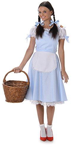 Dorothy Damen Oz Charakter Frauen Erwachsen Kostüm (Medium European 40 - 42 (UK 12 - 14))