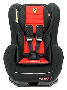MyCarSit Ferrari Car Seat for Kids, 0 to 18 kg, Red