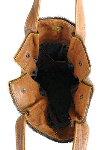 Brillenetuis KöStlich La MinaudiÈre Tiefdunkelbraun Handtasche Vintage-stil Aus Leder Damentasche