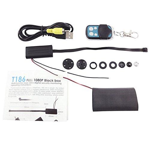 Mengshen HD 1080P 720P Wearable Bewegliche versteckte Spion-Kamera-Knopf-Art Mini-DV Kamerarecorder-Bewegung aktivierte Sicherheit DVR mit Fernsteuerungs MS-HC02