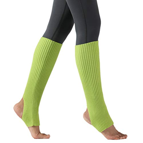 ZZBO Yoga Socken Boot Cover für Damen over the Knee Stulpen Pilates Fitness Anti-Rutsch Socken Gestrickt Beinstulpen Kniestrümpfe Klassische Winter Stiefel Socken Beinwärmer Oberschenkel Leggings