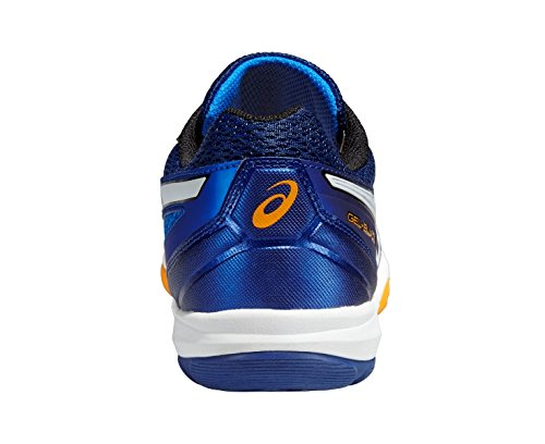 Asics - Gel-blade 5, Scarpe da Squash Uomo Blau (electric Blue/white/navy 3901)