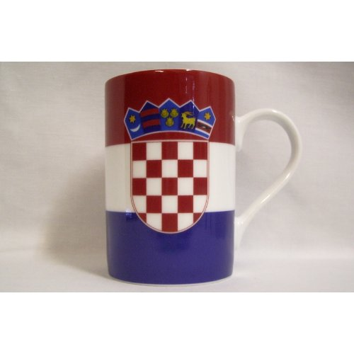 Everflag Kaffeebecher: Kroatien