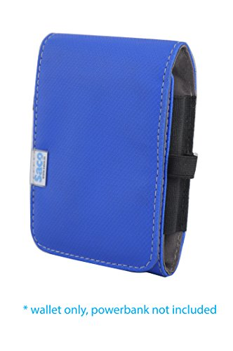 Saco Pouch for Xiaomi Power Bank 10400 Mah - Blue  available at amazon for Rs.180