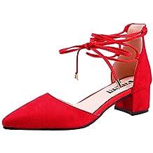 Beladla Sandalias Mujer Plataforma Woman Chicas Moda Zapatillas Apuntado Zapatos Plano El Bling Shoes con Correa