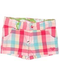 Roxy Hey Baby Childrens Plaid Shorts