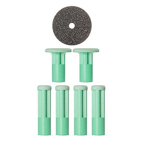 Discos de reemplazo PMD Microderm personal de verde medio, 3 oz
