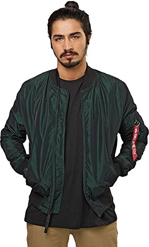 ALPHA INDUSTRIES -  Giacca - Giacca - Maniche lunghe  - Uomo Dark Petrol XX-Large
