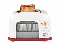 Chef Pro CPT545 Toast Lift Pop Up Toaster - Transparent View