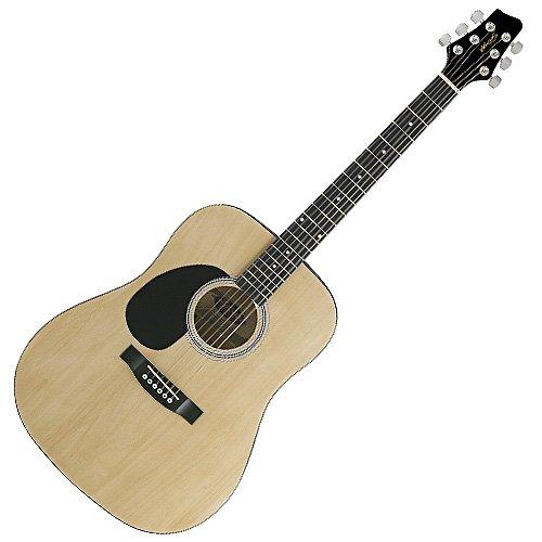 Stagg SW201 LH N Akustik Westerngitarre-Linkshänder natur