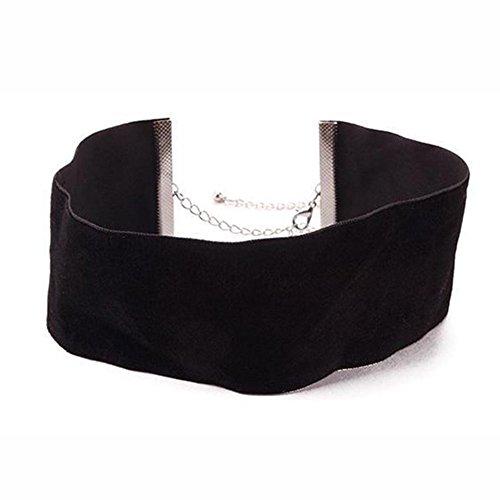 shot-in-uni-samt-band-breite-machen-choker-halsband-gothic-handmade-jewelry-schwarz