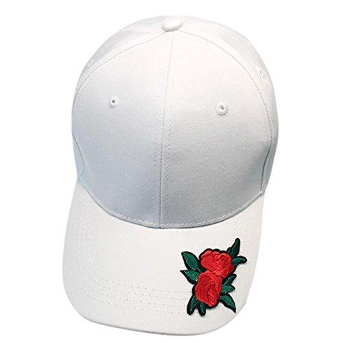 Lanspo Unisex cap Outdoor cap Donne Uomini Coppia Rose Baseball cap Cappello  Unisex Snapback Hip Hop fcdfffb60c0f