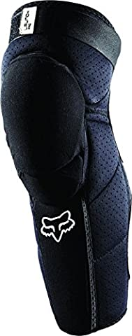 Fox Men's Launch Pro Knee/Shin Guard - Black, Small/Medium