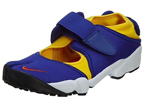 Nike - Air Rift QS - Chaussure De Sport Pour Les Hommes - Bleu / Jaune Bleu / Jaune / Blanc