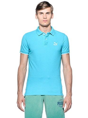 Puma Herren Heritage Polo Shirt Türkis