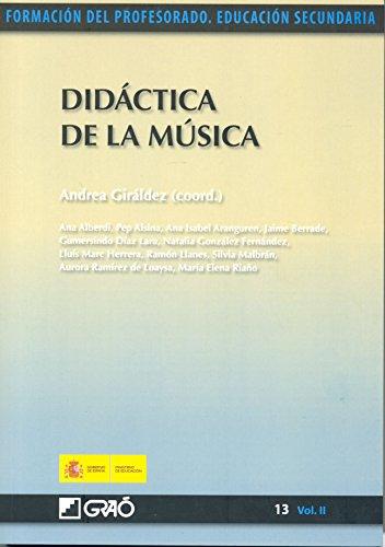 Didáctica de la música por Ana Alberdi