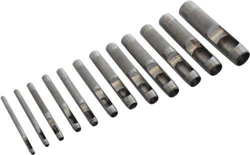 Am-Tech 12 Stück Hollow Punch Set, H1900