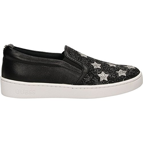 Guess FLGLO3ESU12 Slip On Donna Pelle Black Black 38