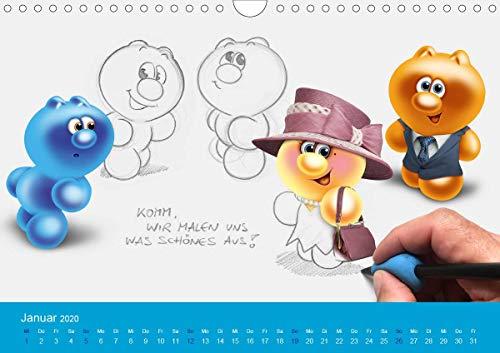 Gelini (Wandkalender 2020 DIN A4 quer)