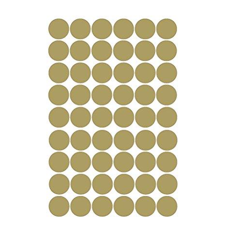 VORCOOL Punkte Wandsticker, Punkte zum Kleben Wandtattoo für Kinderzimmer Schlafzimmer Dekoration