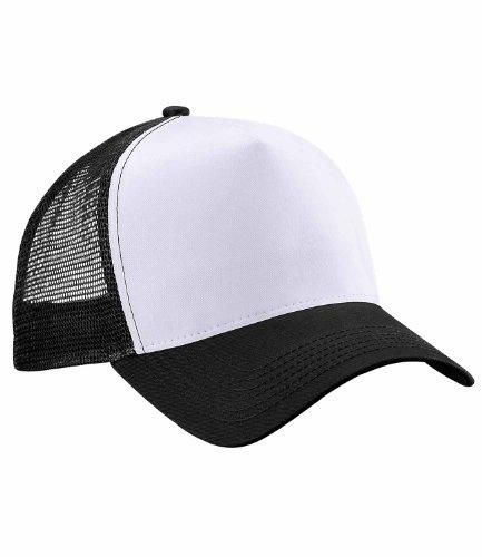 One Size, Black/White - Beechfield Unisex