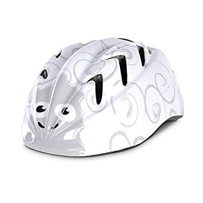Oxford Little Animal Children Helmet - Lamb, 48-52cm / Kid Child Toddler Pre School Infant Youngster Young Age Boy Girl Unisex Bicycle Cycling Cycle Biking Bike Accessories Safety Safe Hat Hard Shell Protection Protective Protect Head Skull Upper Body Clo
