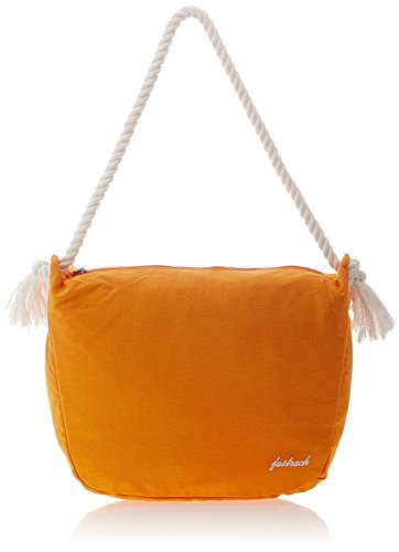 Fastrack Fabric Orange Messenger Bag - AT102CYL01  available at amazon for Rs.599