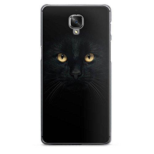DeinDesign OnePlus 3 Hülle Case Handyhülle Katze Eyes Augen -
