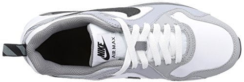 Nike Air Max Trax (Gs), Baskets mode mixte enfant Gris (White/Black-Cool Grey-Wlf Grey)