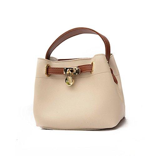 Sacchetto di spalla della borsa della benna del sacchetto di retro sacchetto del messaggero,Brown Brown