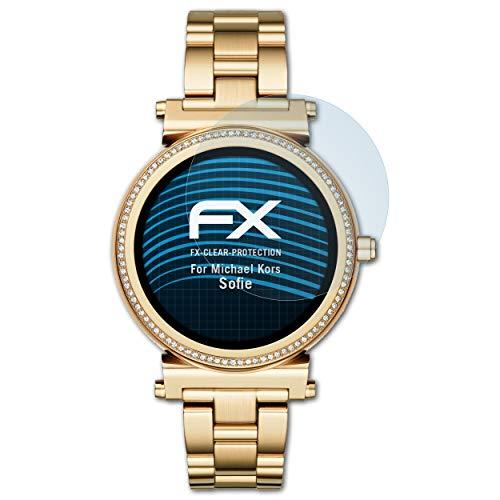 atFoliX Protezione Pellicola dello Schermo compatibile con Michael Kors Sofie Pellicola Protettiva, ultra-trasparente FX Proteggi Schermo (3X)