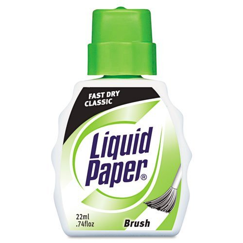 liquid-paper-products-liquid-paper-fast-dry-classic-correction-fluid-22-ml-bottle-by-paper-mate