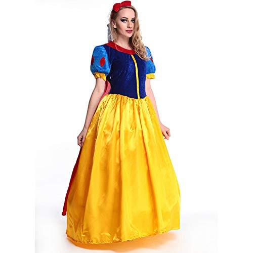 Diorerr Sexy Lady Umhang Schneewittchen KostüM Halloween Rollenspiel Uniform Set