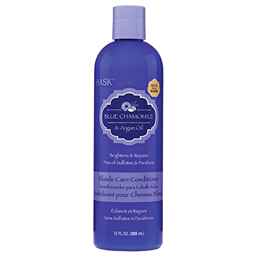 HASK Blue Chamomile with Argan Blonde Conditionneur 355 ml